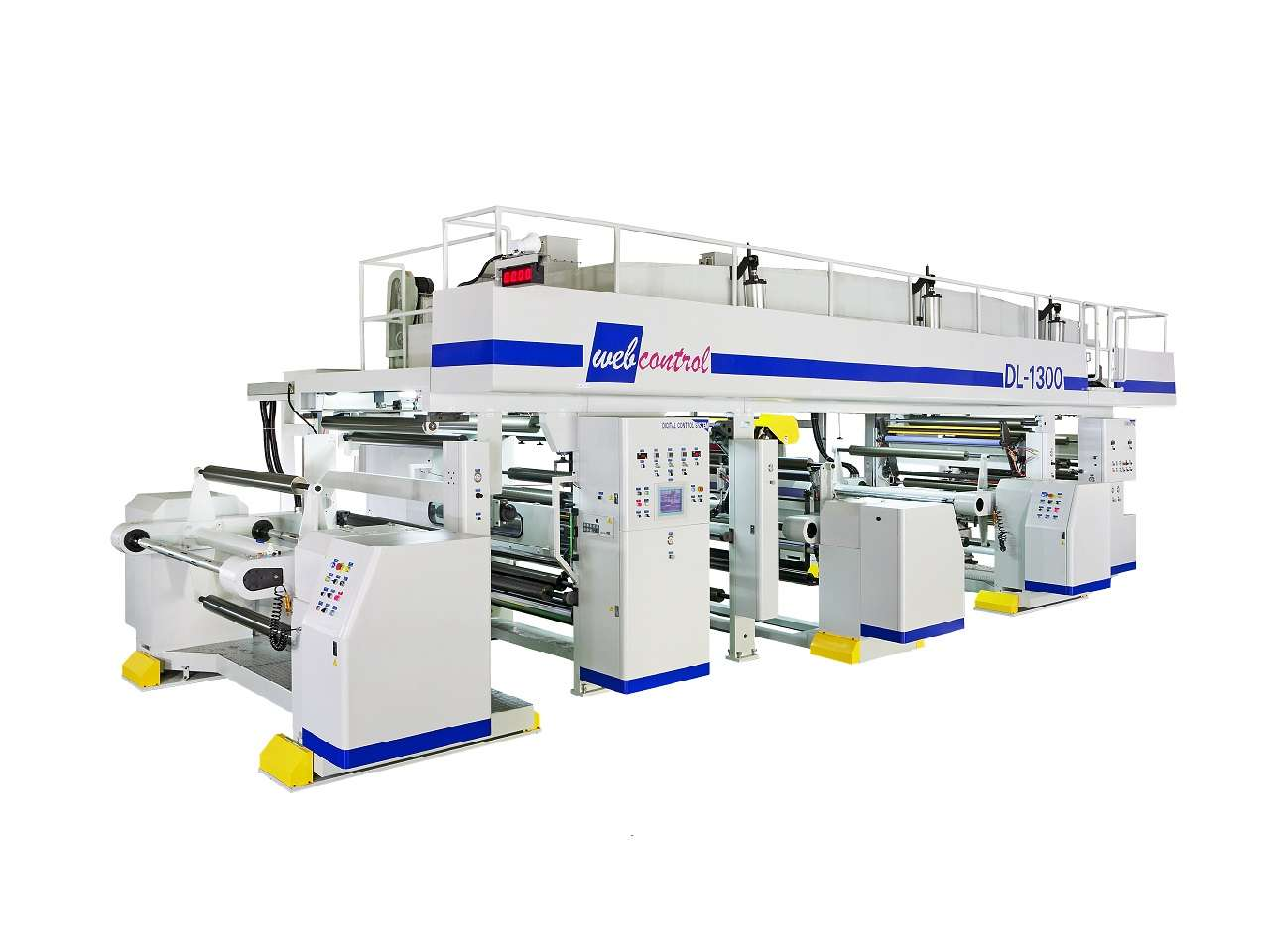Dry Laminator Shafted Type DL-1300