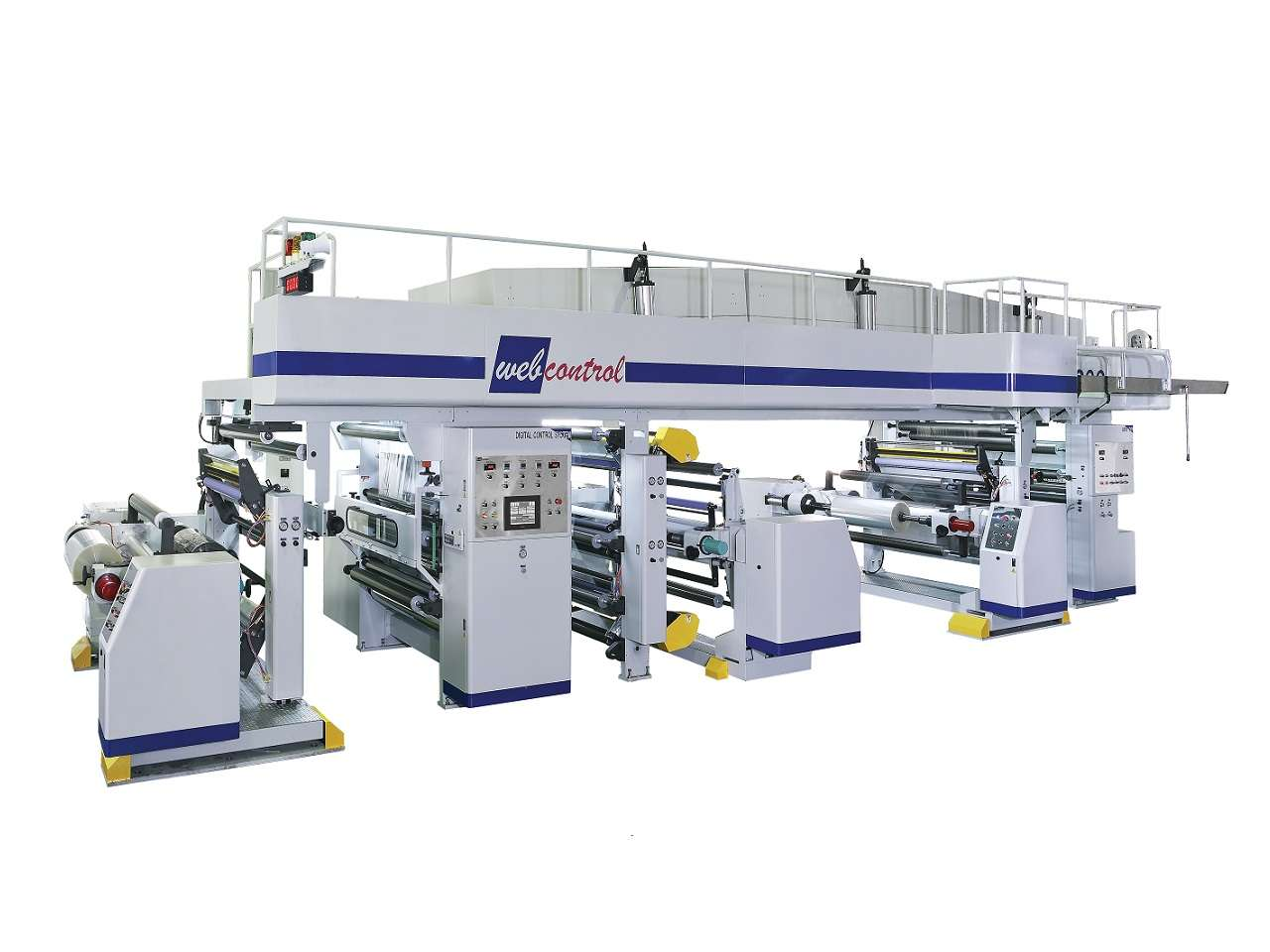 Dry Laminator Shaftless Type DL-S1300